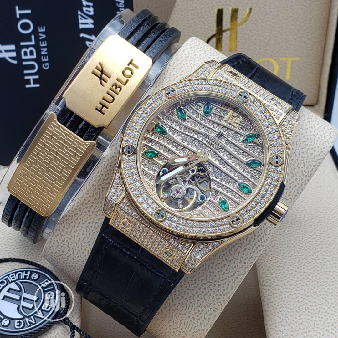 Archive: Hublot Rubber Watch With Bracelet
