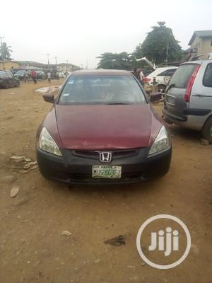 Honda Accord 2004 Red   Cars for sale in Lagos State, Agege