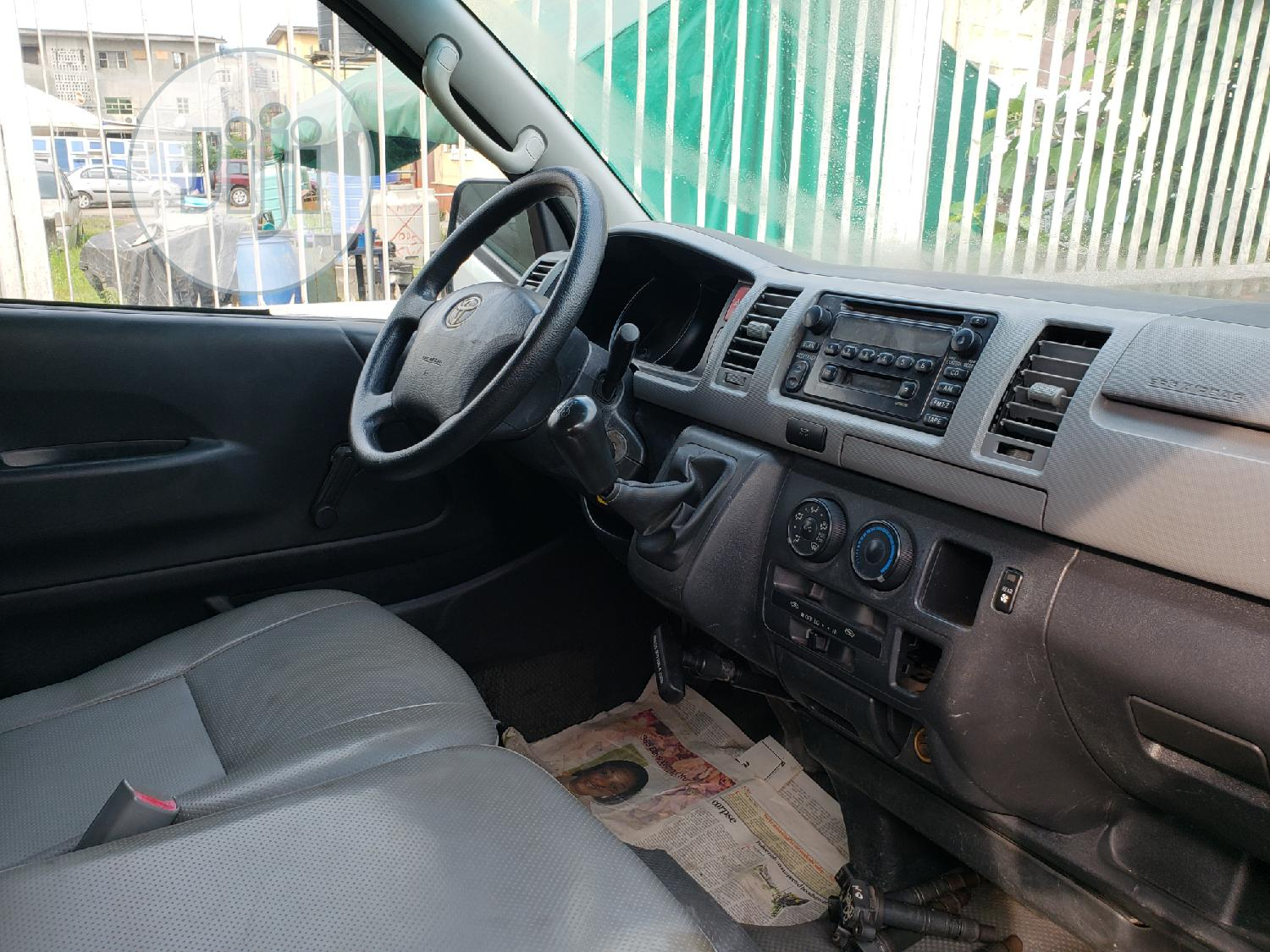 Toyota Hiace Bus Low Roof Locally Used   Buses & Microbuses for sale in Surulere, Lagos State, Nigeria