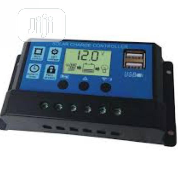 Pwm Charge Controller 12v24v 30ah