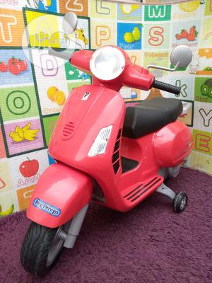 Uk Used Kids Peg-Perego Vespa GT 12 Volt Ride on Scooter   Toys for sale in Lagos State, Surulere