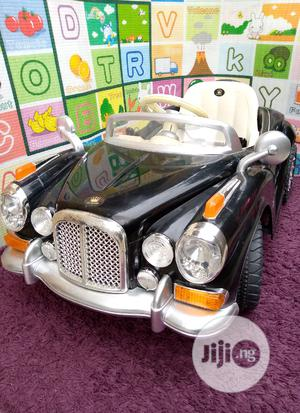 Amazing Uk Used 12 Volt Classic Vintage Jaguar Ride on Car | Toys for sale in Lagos State, Surulere