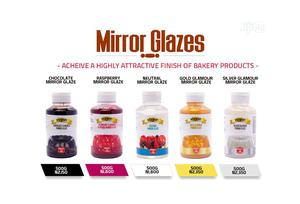 Vizyon Mirror Glazes - 500g For Cake Decoration | Meals & Drinks for sale in Lagos State, Lekki