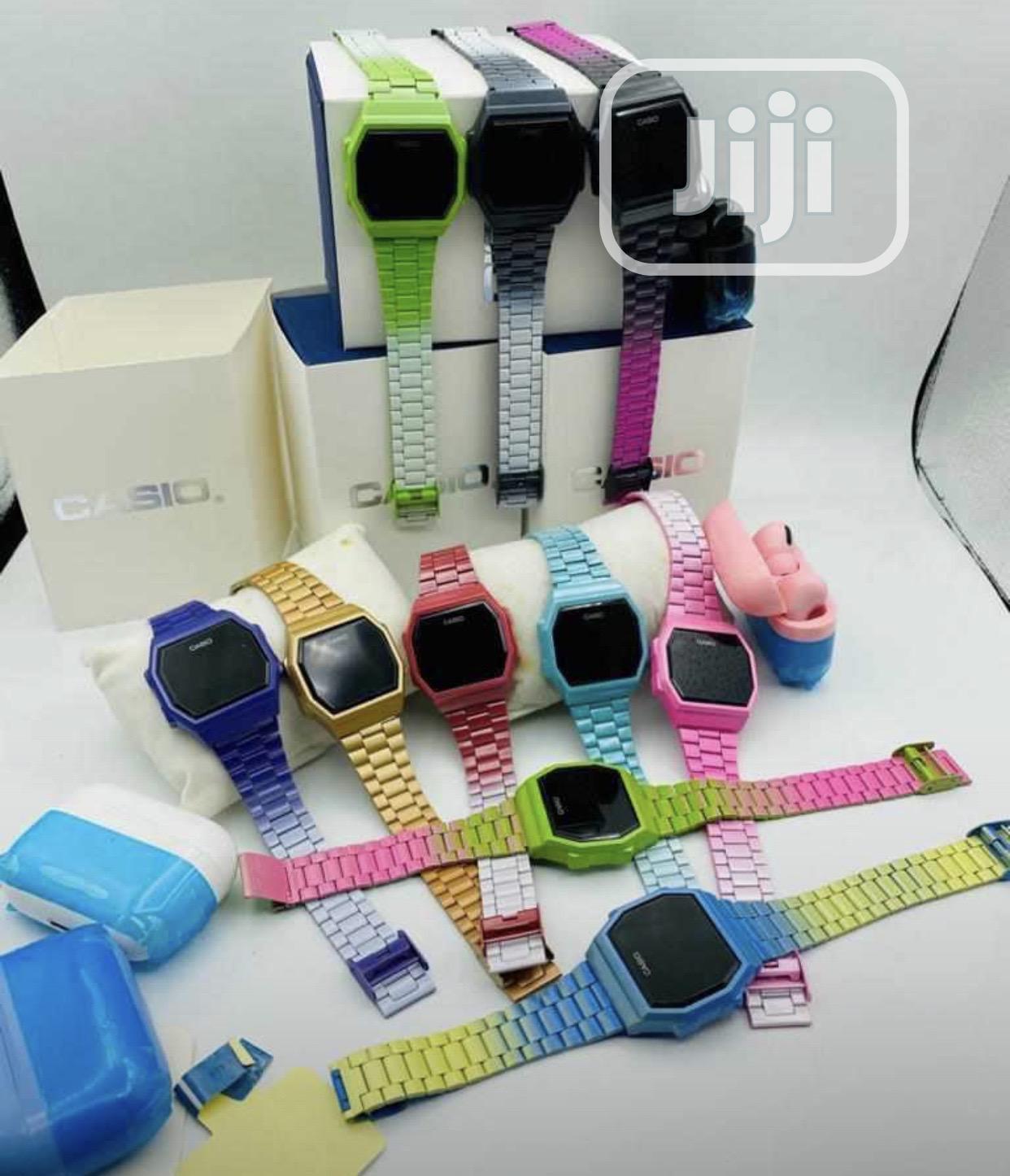 Ombre Casio Wristwatch