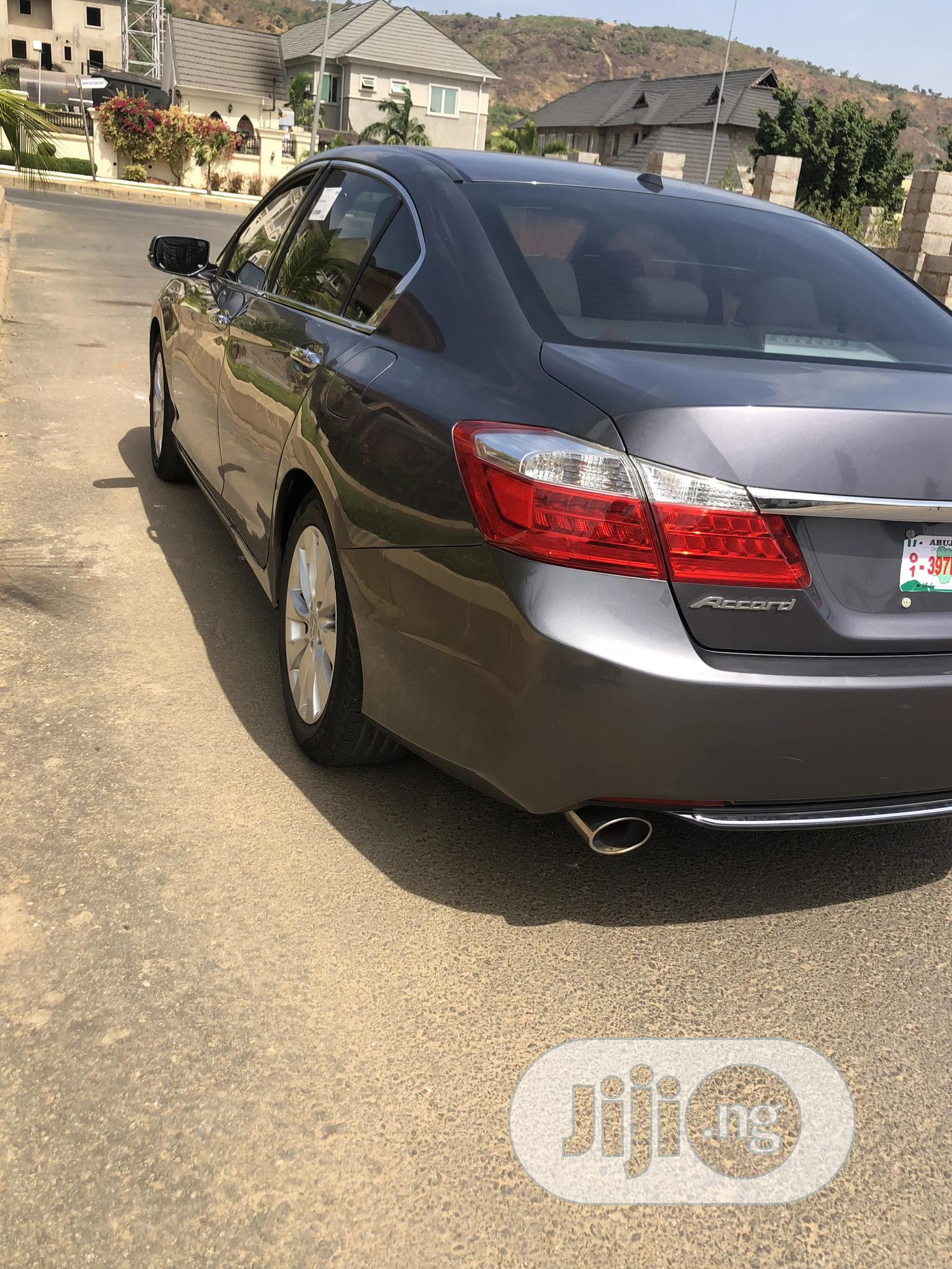 Honda Accord 2013 Gray | Cars for sale in Central Business Dis, Abuja (FCT) State, Nigeria