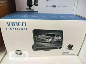 """1080P Car DVR 4""""Dual Lens Dash Cam Front Rear Video Recorder 