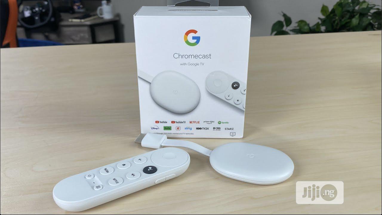 Chrome Cast With Google TV