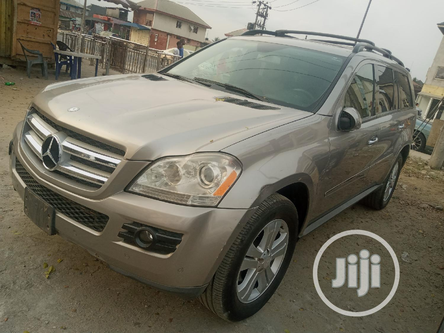 Mercedes-Benz GL Class 2008 GL 450 Gold | Cars for sale in Port-Harcourt, Rivers State, Nigeria