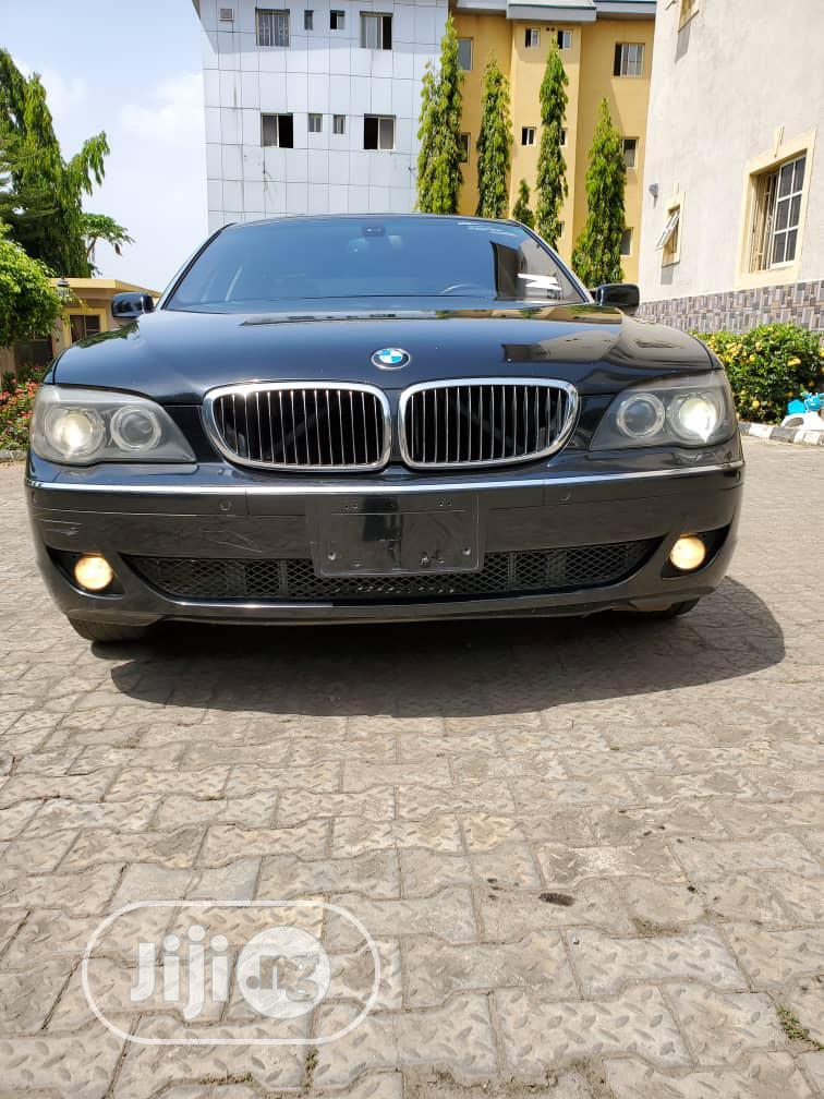 BMW 7 Series 2010 Black