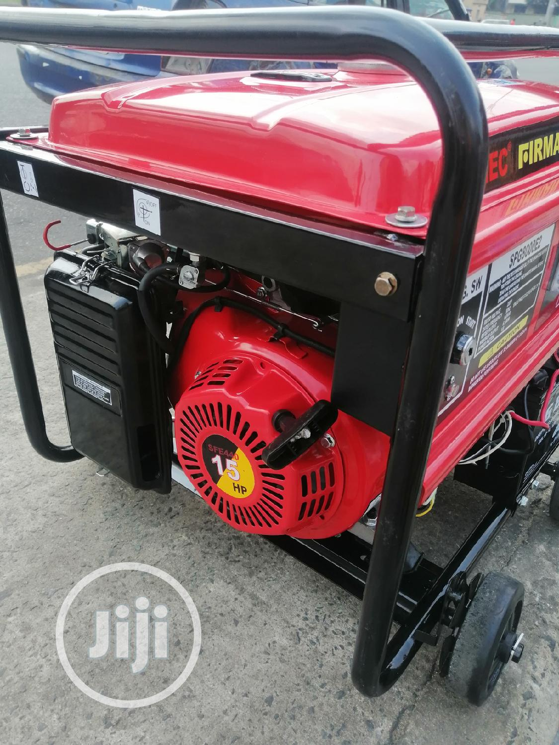 Sumec Firman Generator (Spg8000e2 (6.5kva | Electrical Equipment for sale in Port-Harcourt, Rivers State, Nigeria