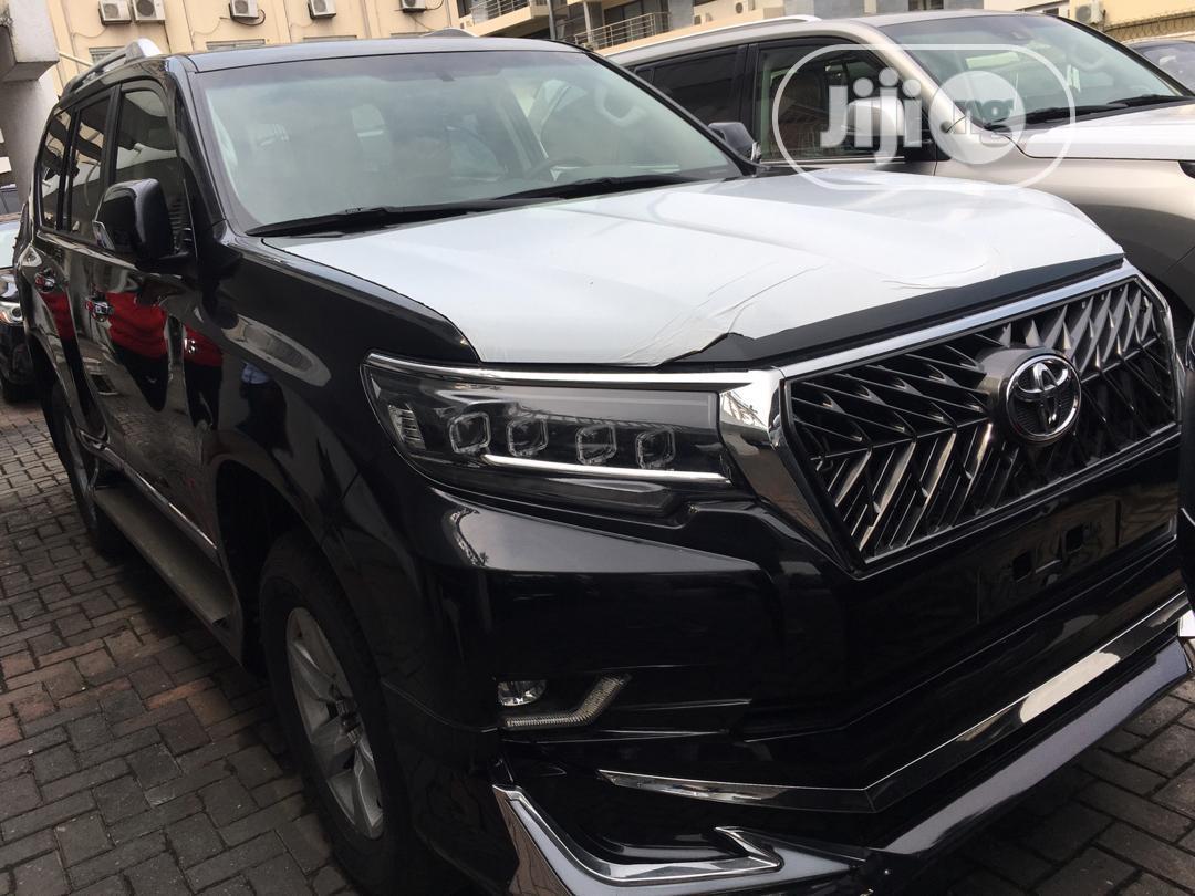 New Toyota Land Cruiser Prado 2020 Black