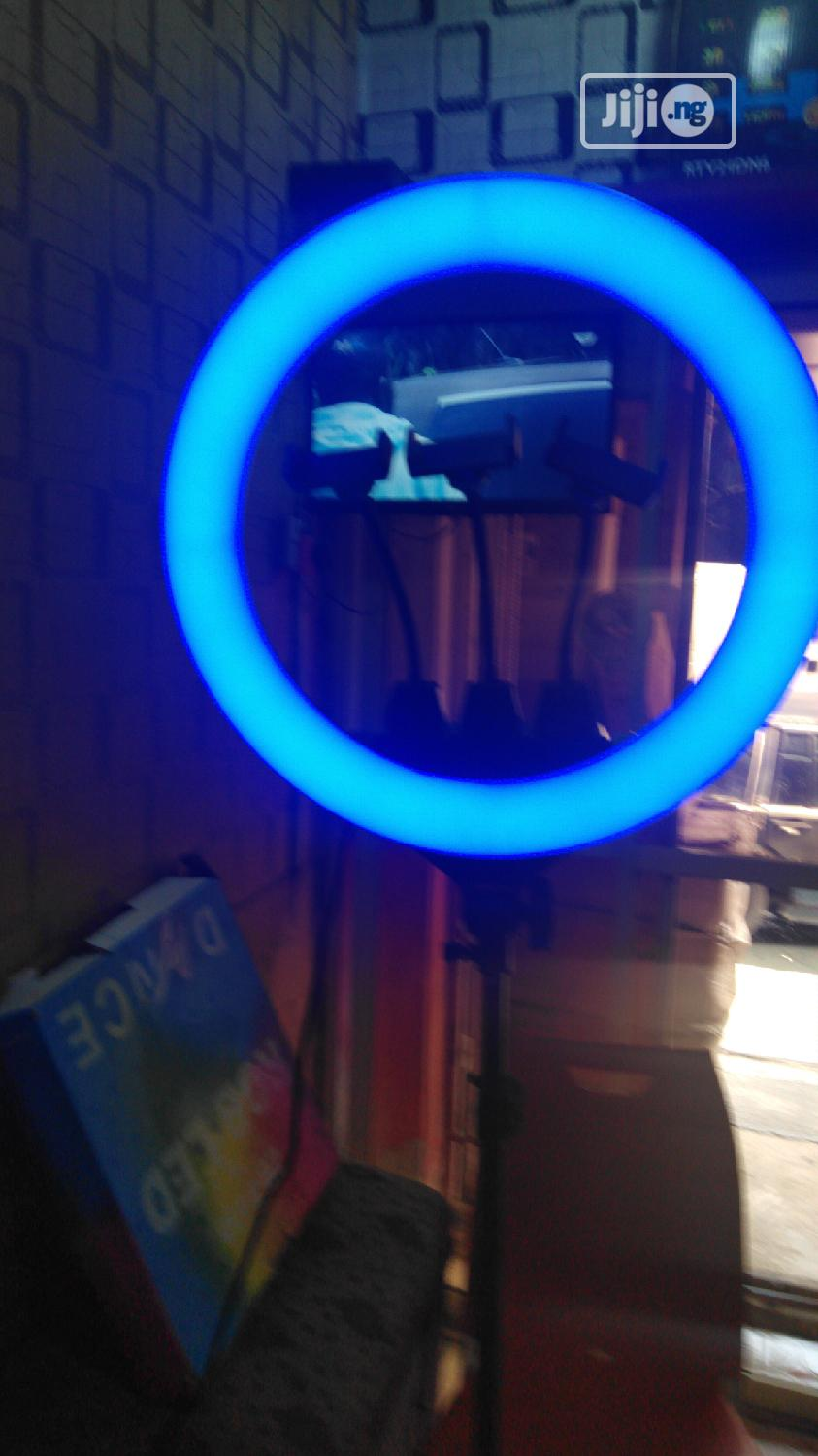 Archive: 18inches Ring Light Multiple Colours and Remote Control