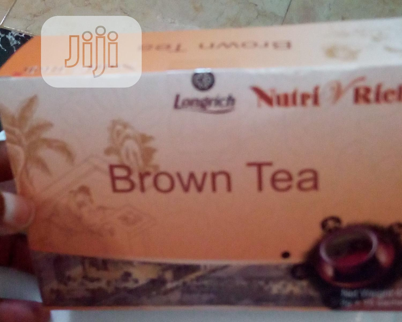 Longrich Brown Tea | Vitamins & Supplements for sale in Enugu / Enugu, Enugu State, Nigeria