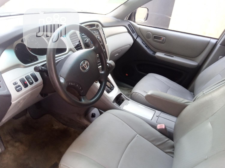 Toyota Highlander 2005 Limited V6 Black   Cars for sale in Ibadan, Oyo State, Nigeria