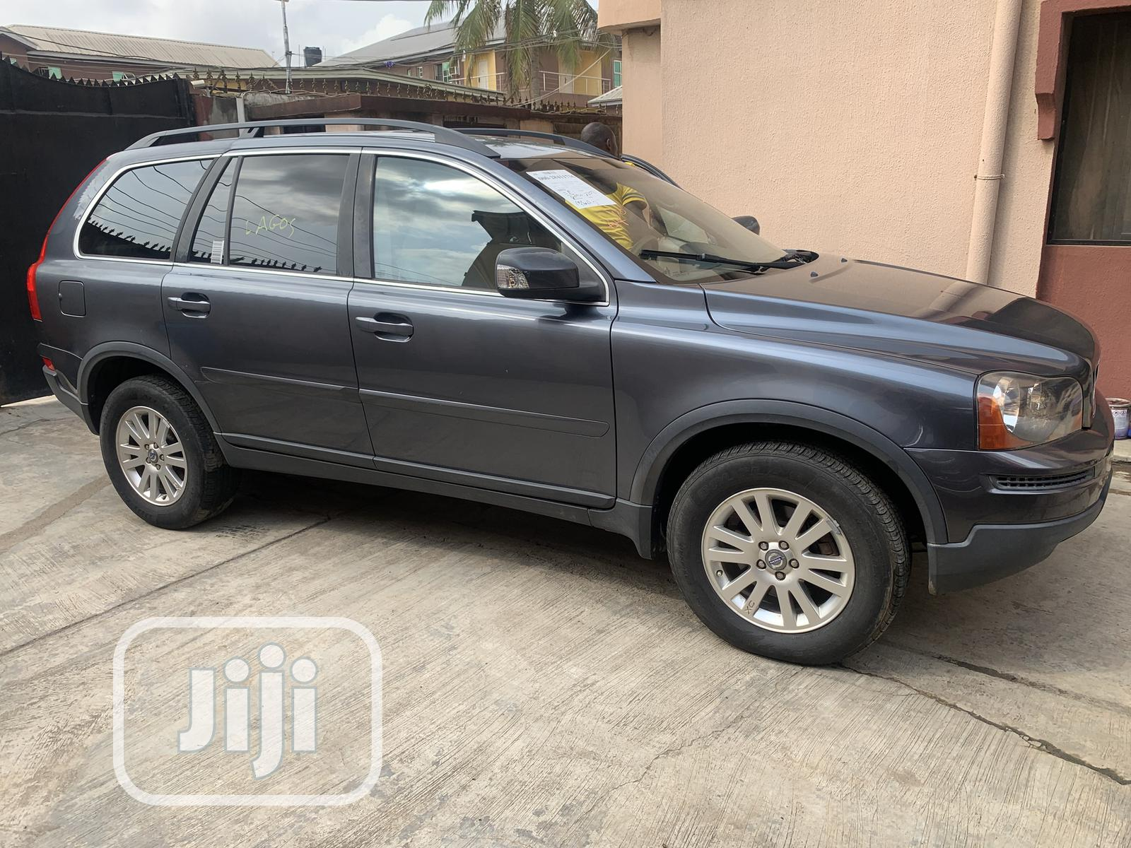 Volvo XC90 2008 2.5 T Kinetic Blue   Cars for sale in Ojodu, Lagos State, Nigeria