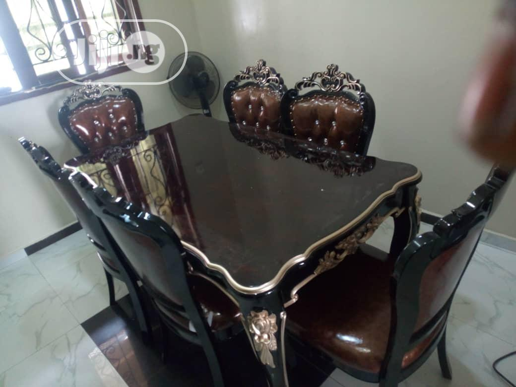 Archive: Royal Wooden Dinning Table With 6 Chairs