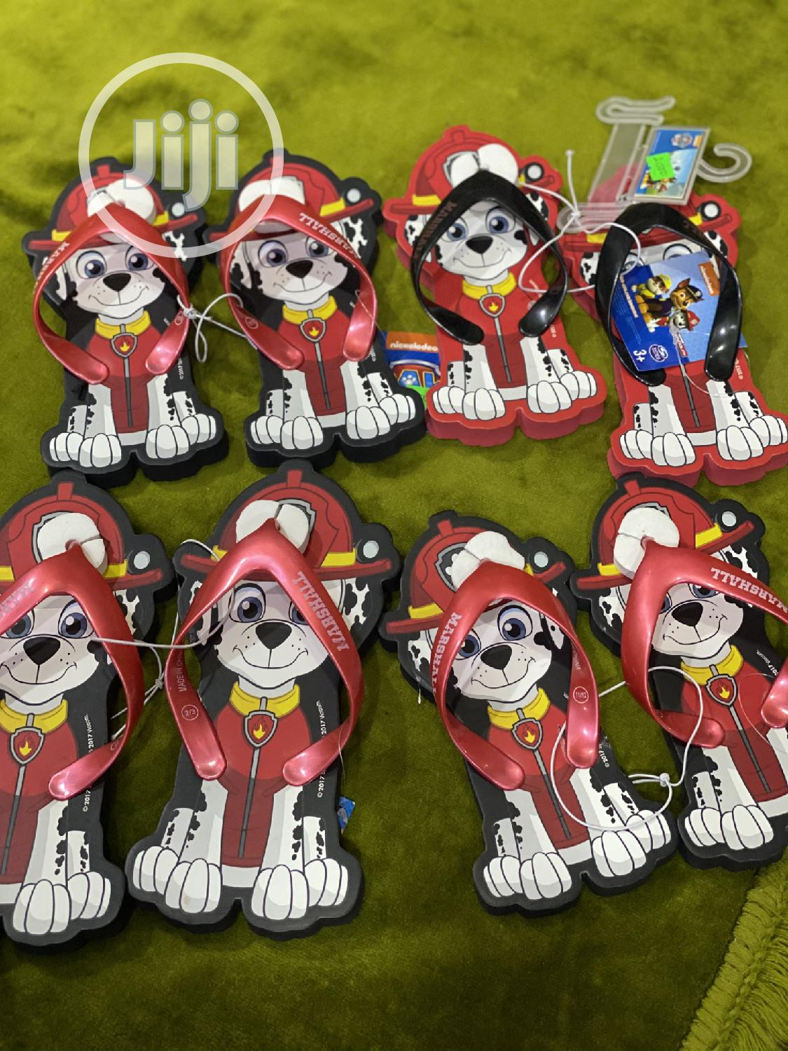 Paw Patrol Flipflop Sandals Available