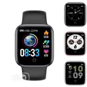 T55 Smartwatch Bluetooth Fitness Tracker - Heart Rate & BP | Smart Watches & Trackers for sale in Lagos State, Ikeja
