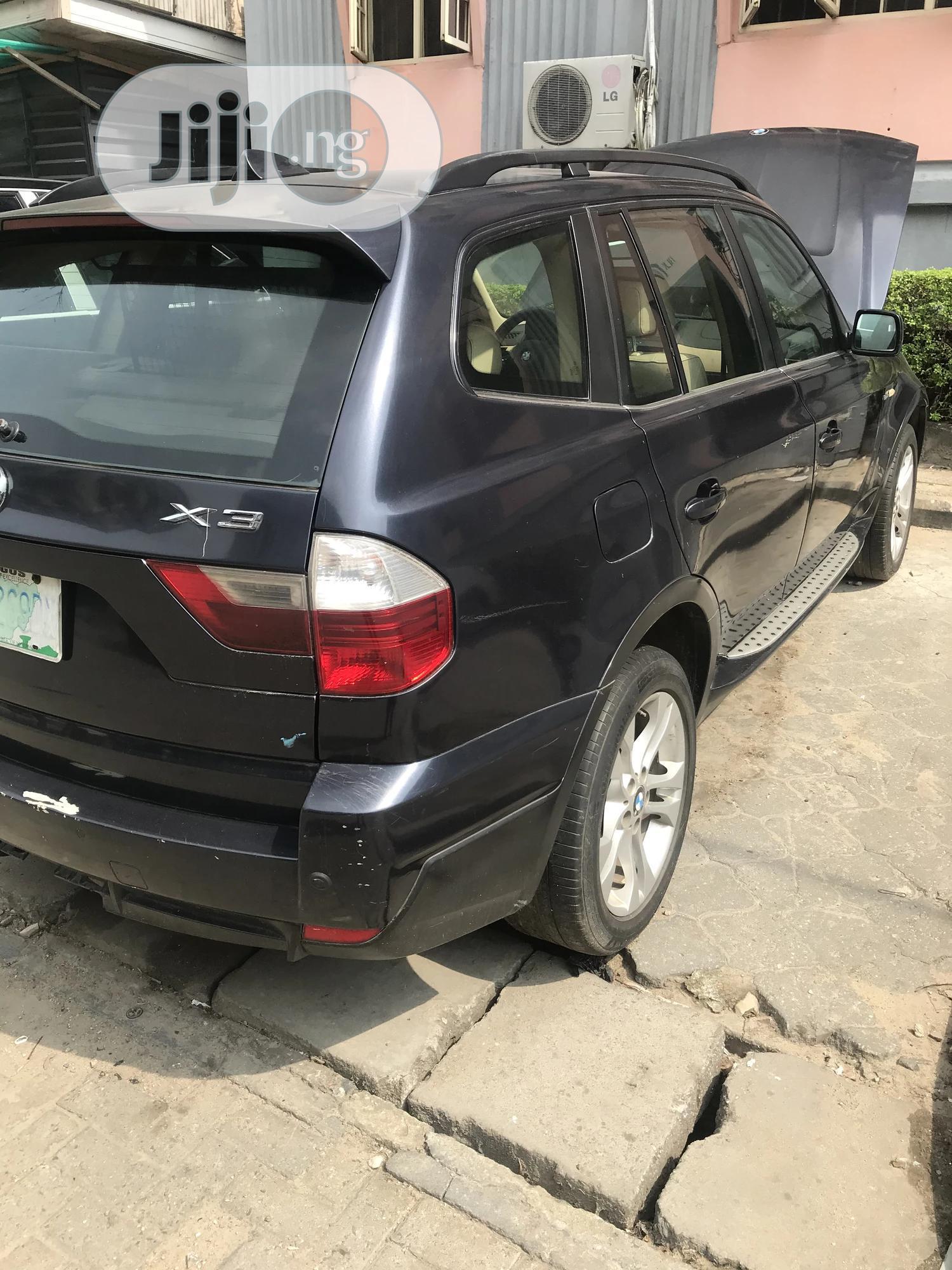 BMW X3 2008 2.5si Exclusive Blue   Cars for sale in Lagos Island (Eko), Lagos State, Nigeria