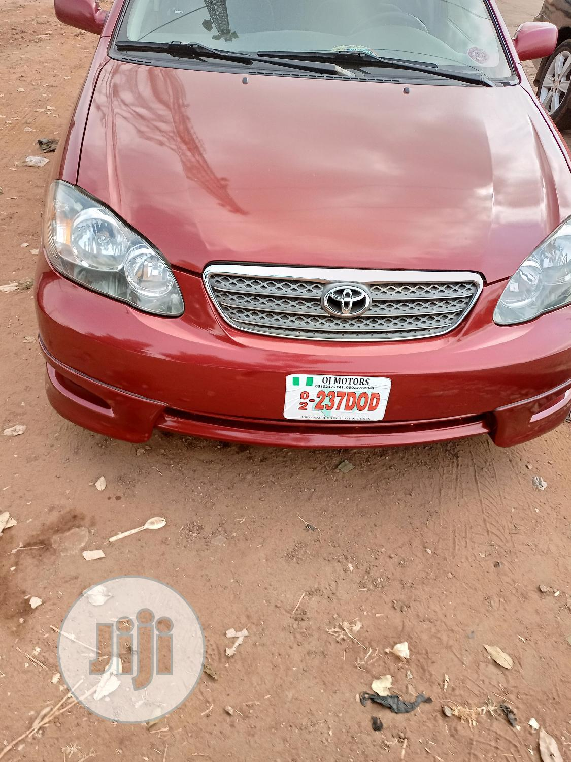 Archive: Toyota Corolla 2008 Red