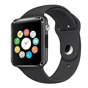 A1 Smart Watch - Single Sim - Bluetooth - Memory Card Slot | Smart Watches & Trackers for sale in Lagos State, Ikeja