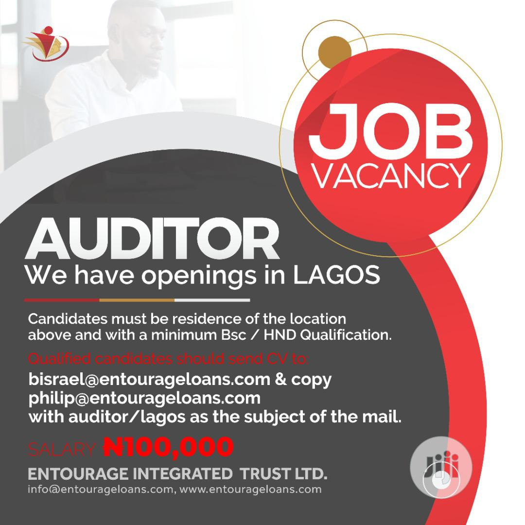 Archive: Internal Auditor wanted