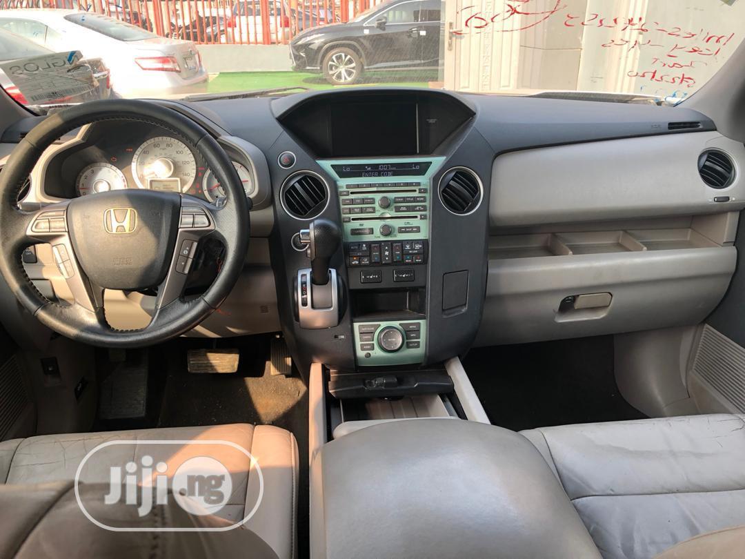 Honda Pilot 2008 SE 4x4 (3.5L 6cyl 5A) Silver | Cars for sale in Ikeja, Lagos State, Nigeria