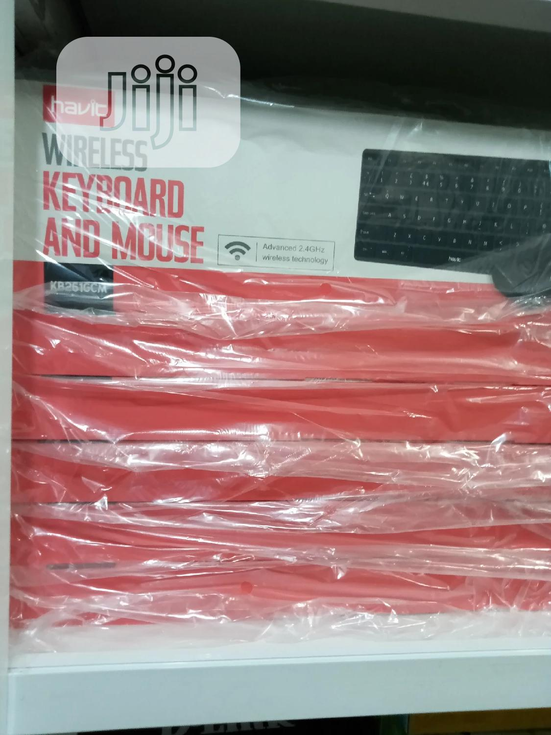 Havit Wireless Keyboard and Mouse   Computer Accessories  for sale in Ikeja, Lagos State, Nigeria