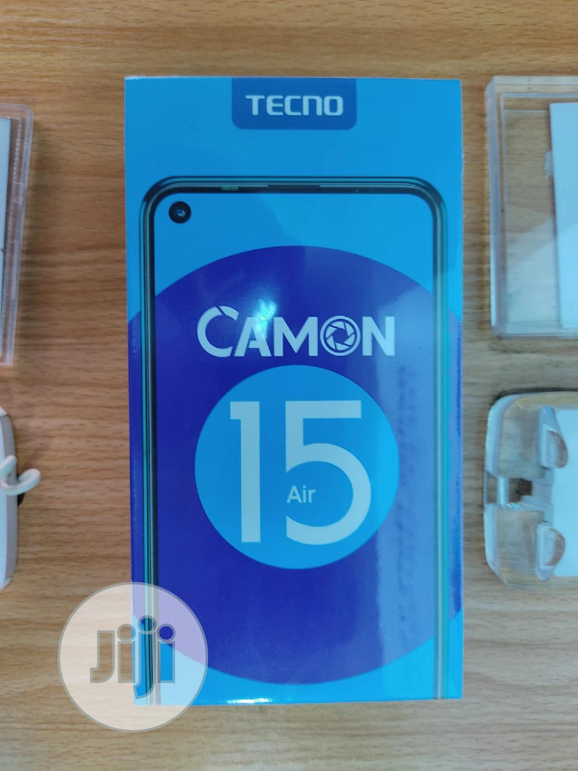 New Tecno Camon 15 Air 64 GB Gray | Mobile Phones for sale in Ikeja, Lagos State, Nigeria