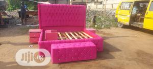 6by6 Upholstery Bedframe | Furniture for sale in Lagos State, Ojo