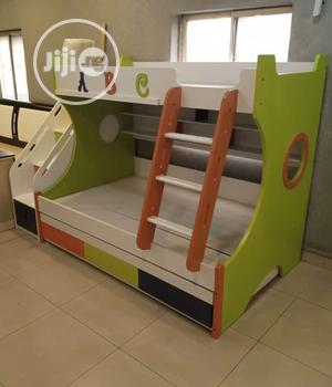 Super Quality Imported Children Double Step Bonk Bed   Children's Furniture for sale in Lagos State, Lekki