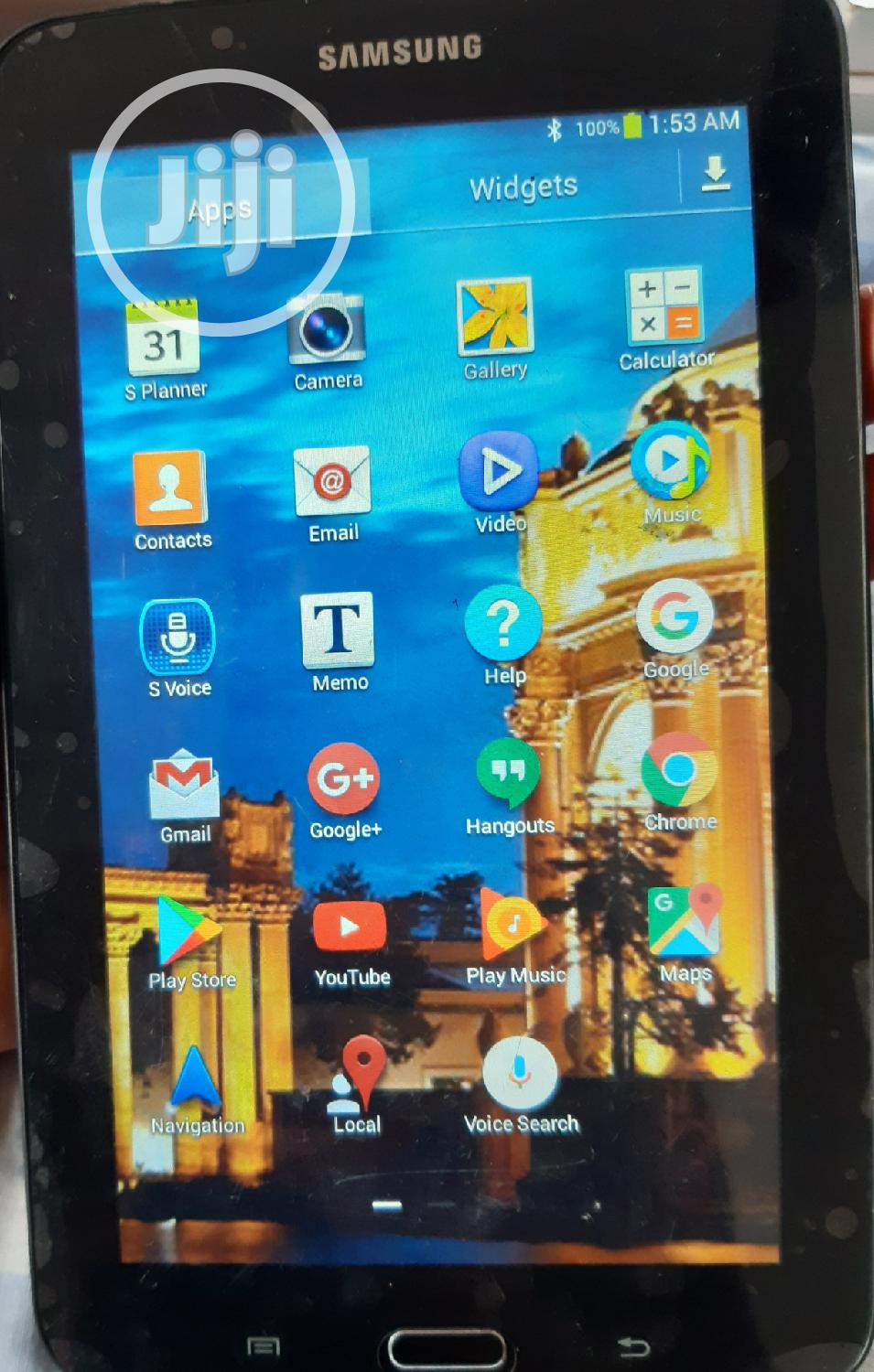 Samsung Galaxy Tab 3 Lite 7.0 8 GB Black | Tablets for sale in Owerri, Imo State, Nigeria