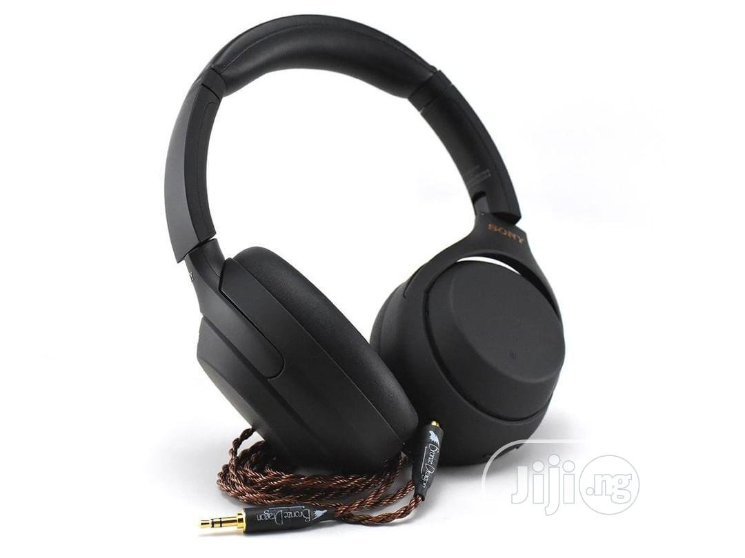 Sony WH-1000XM4 Noise Cancelling Headphones 100% Original | Headphones for sale in Wuse 2, Abuja (FCT) State, Nigeria