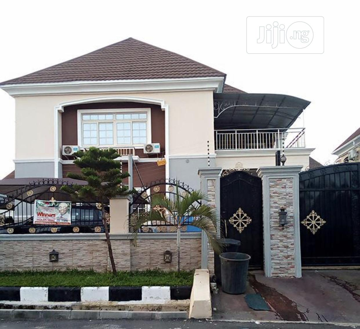 Beautiful 4 Bedroom Detached Duplex With Swimming Pool | Houses & Apartments For Sale for sale in Gwarinpa, Abuja (FCT) State, Nigeria
