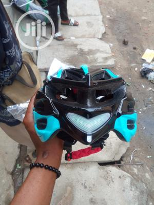Adults Bicycle Helmet And Hand Glove | Sports Equipment for sale in Lagos State, Ikeja