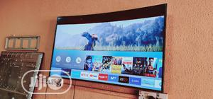 Samsung Smart UHD 4k HDR Curved Led Tv 55 Inches | TV & DVD Equipment for sale in Lagos State, Ojo