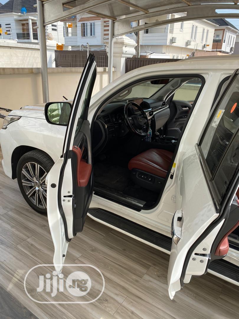 Lexus LX 2017 570 Base White | Cars for sale in Lekki, Lagos State, Nigeria