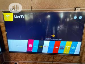 49 Inches LG Smart UHD 4k Flat HDR Web'os Led Tv | TV & DVD Equipment for sale in Lagos State, Ojo
