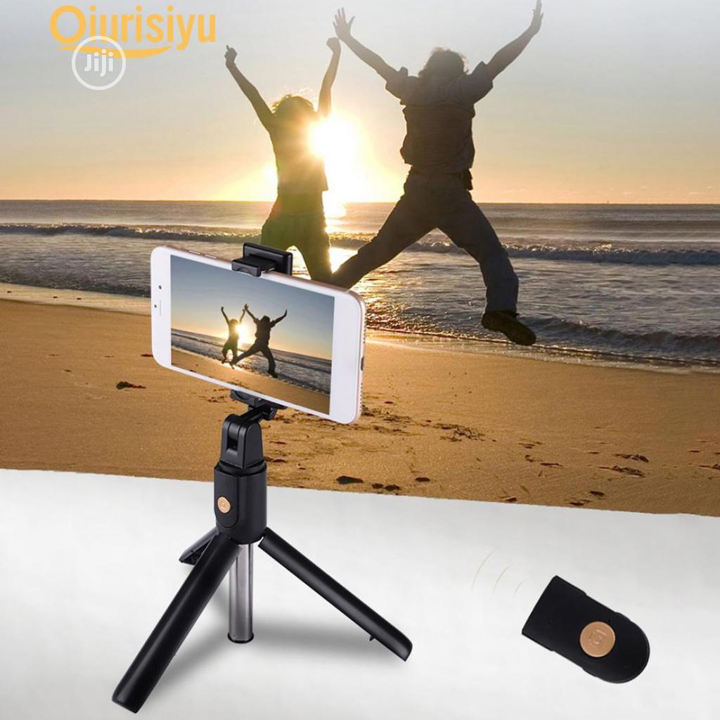 Bluetooth Selfie Stick With Tripod Stand | Accessories for Mobile Phones & Tablets for sale in Port-Harcourt, Rivers State, Nigeria