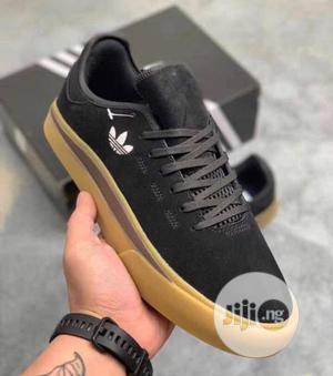 "*Adidas Sabalo Suede ""Coreblack/Gum""*   Shoes for sale in Lagos State, Apapa"