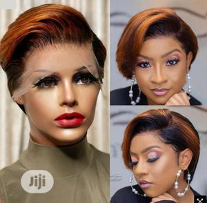 Amazon Short Wigs Fashion Dyed Chemical Fiber | Hair Beauty for sale in Abuja (FCT) State, Wuse 2