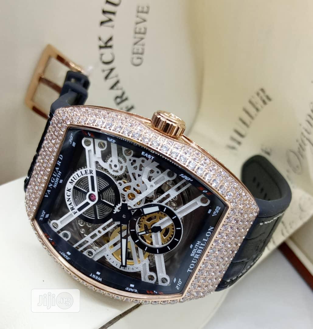 Brand New Frank Muller Diamond Wrist Watch