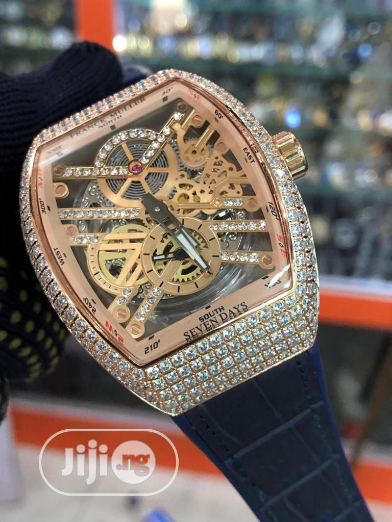 Brand New Frank Muller Diamond Wrist Watch | Watches for sale in Lekki, Lagos State, Nigeria