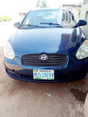 Hyundai Accent 2008 1.6 Blue | Cars for sale in Oyo State, Ido