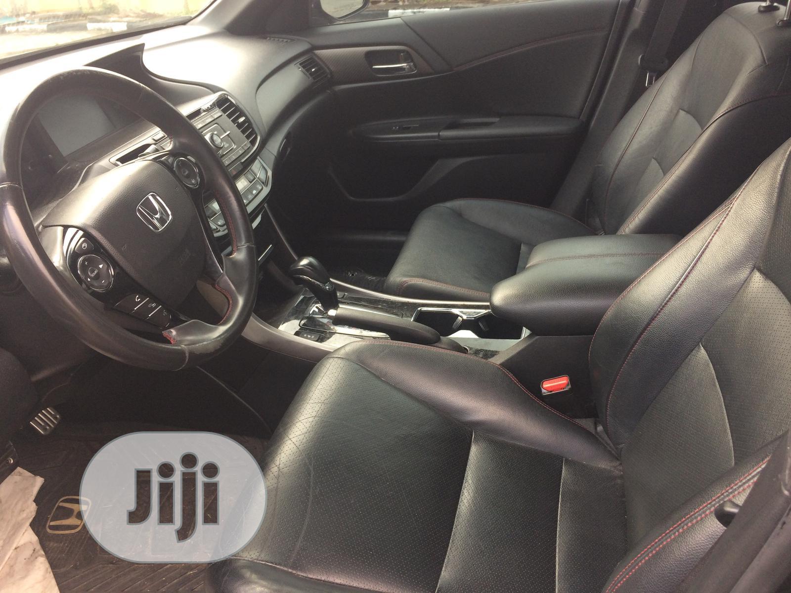 Honda Accord 2017 Black | Cars for sale in Ajah, Lagos State, Nigeria