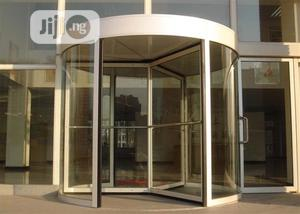 Automatic Revolving Hotel Entrance Sliding Barrier Main Gate | Safetywear & Equipment for sale in Abuja (FCT) State, Wuse