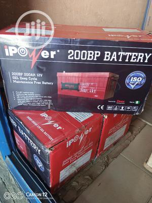 200ah/12v Ipower GEL BATTERY   Solar Energy for sale in Lagos State, Ojo