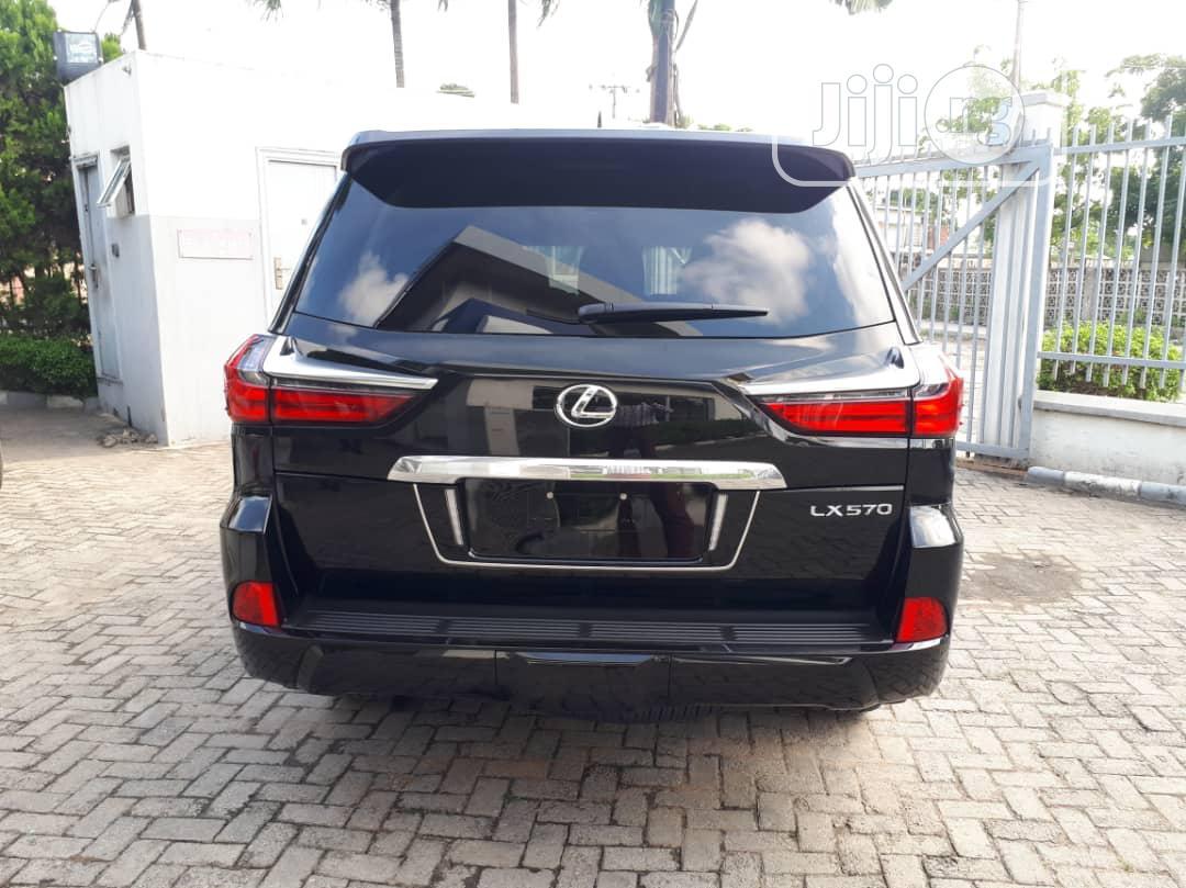 New Lexus LX 2020 570 Three-Row Black | Cars for sale in Ikeja, Lagos State, Nigeria