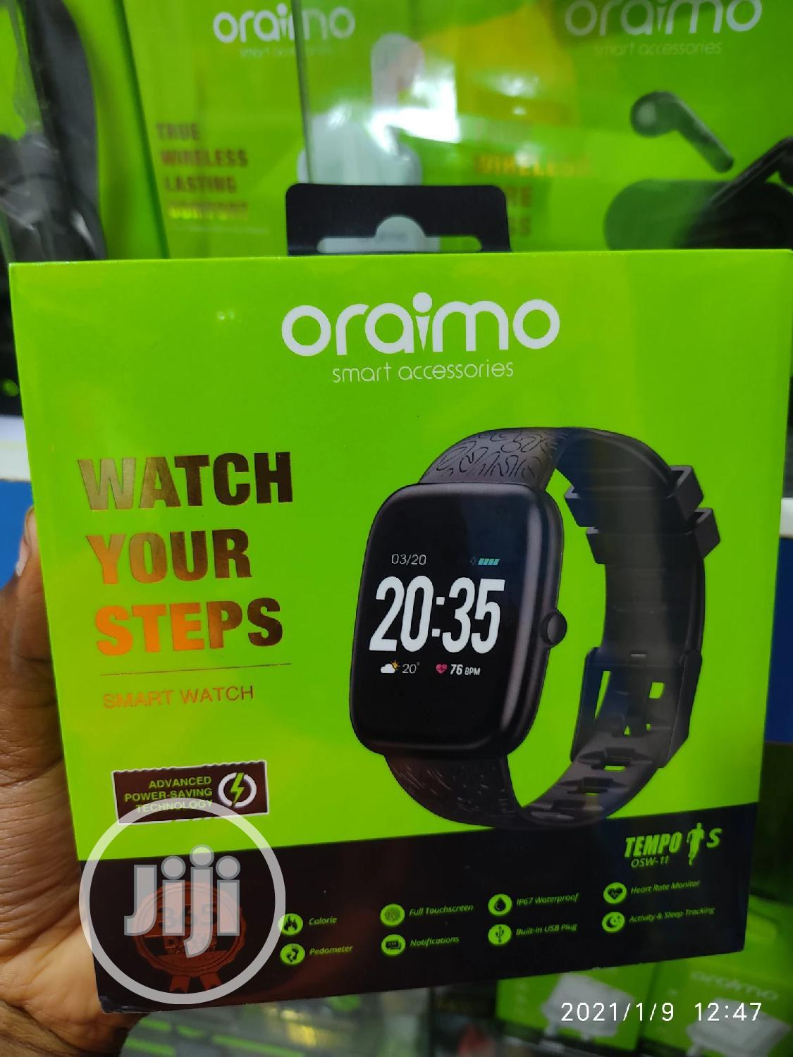 Oraimo Smart Watch | Smart Watches & Trackers for sale in Ikeja, Lagos State, Nigeria