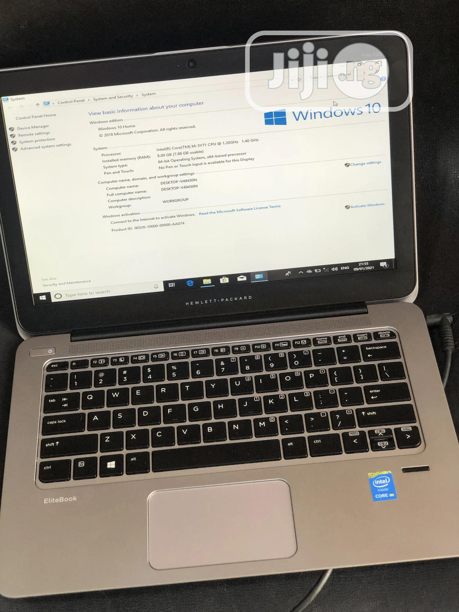 Laptop HP EliteBook Folio 1020 G1 8GB Intel Core i5 SSD 256GB